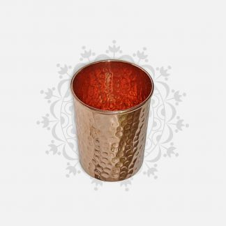 coupe en cuivre pour eau ayurveda