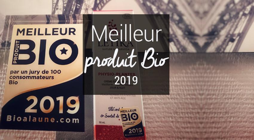 Meilleur produit bio 2019 creme physio-plantes