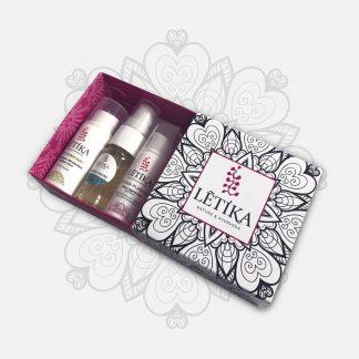 Box mandala rituel 3 mini-soins 5ml LETIKA
