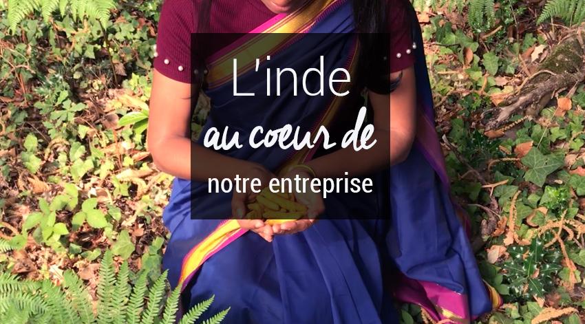 Inde au coeur de notre entreprise française