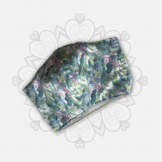 Masque tissu covid-19 FEMME coloris fleuri
