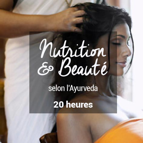 Formation nutrition beaute ayurveda