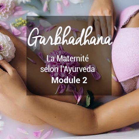 Formation Garbhadhana La grossesse  selon ayurveda