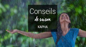 Conseils de saison Kapha Printemps