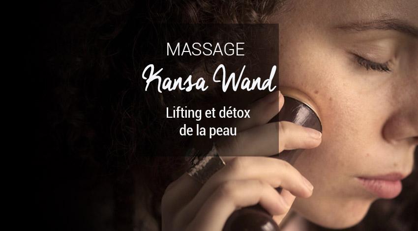 Kansa wand lifting naturel visage